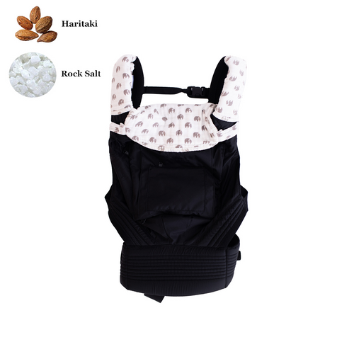 Baby Carrier Drool Bib & Teething Pads - Elephant Parade