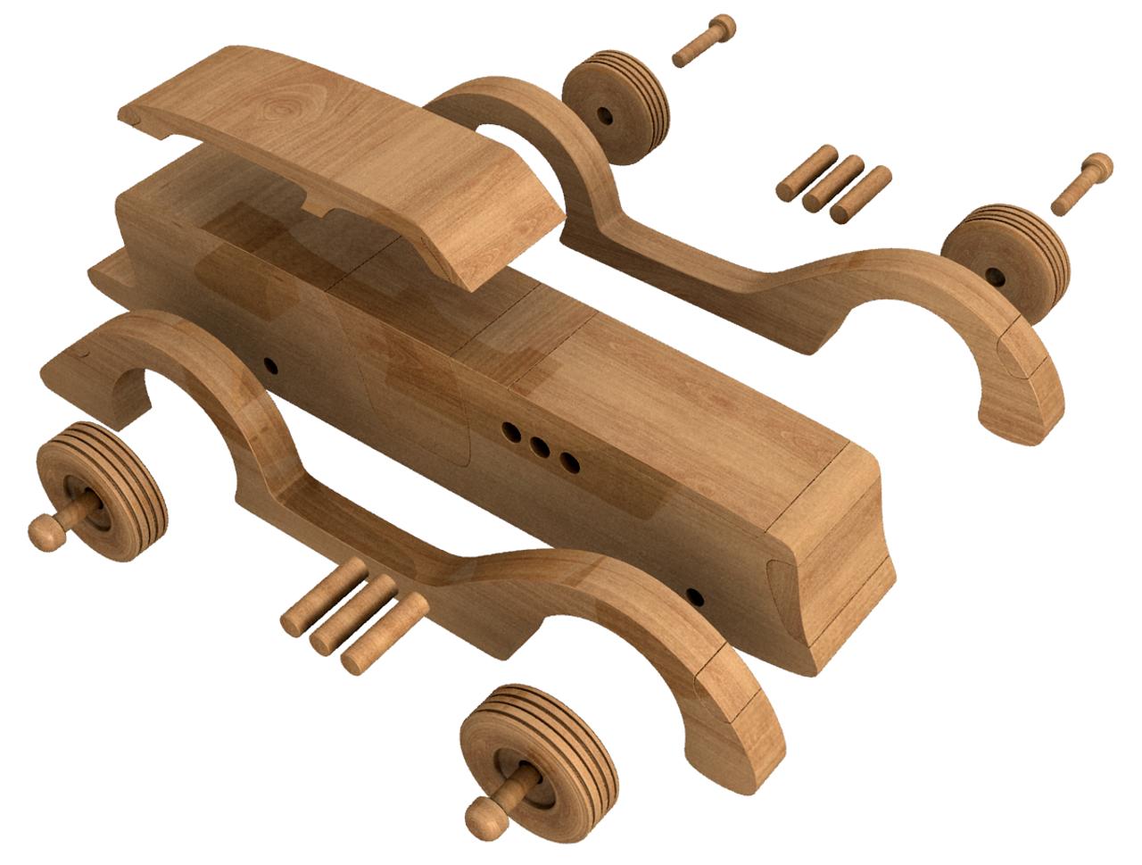 1935 ciccarelli custom duo plus teardrop trailer wood toy plans (2 pdf  downloads)