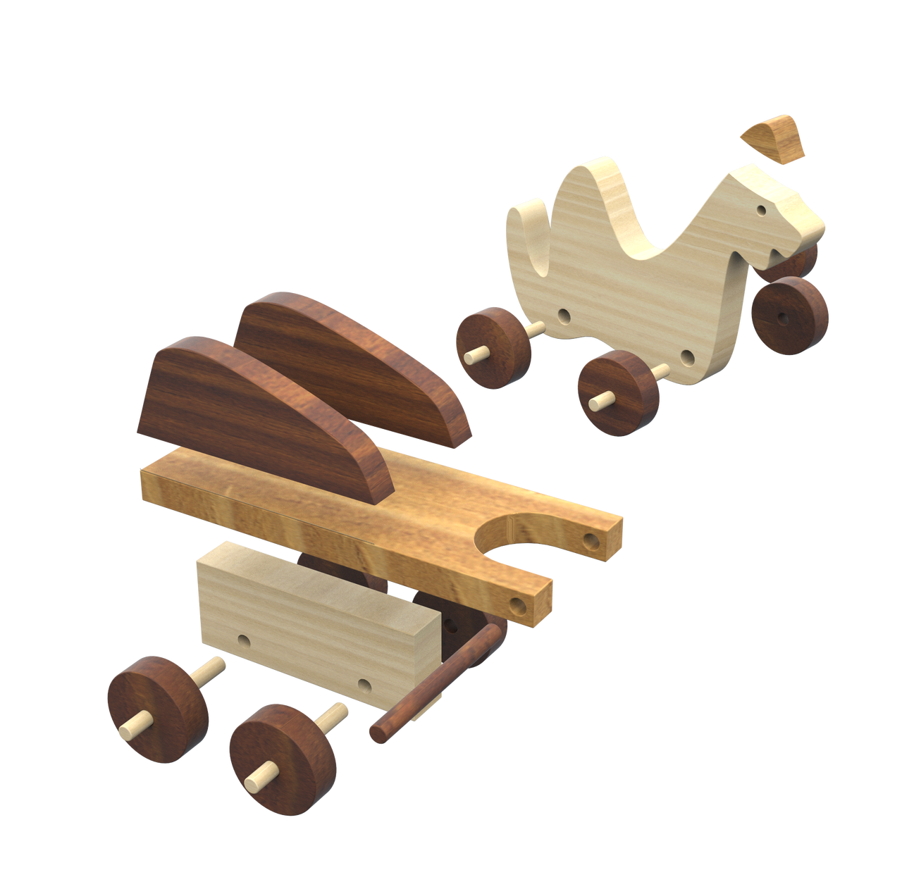 zoo carpet buddies and cavekids & dinosaurs wood toy plans (2 pdf downloads)