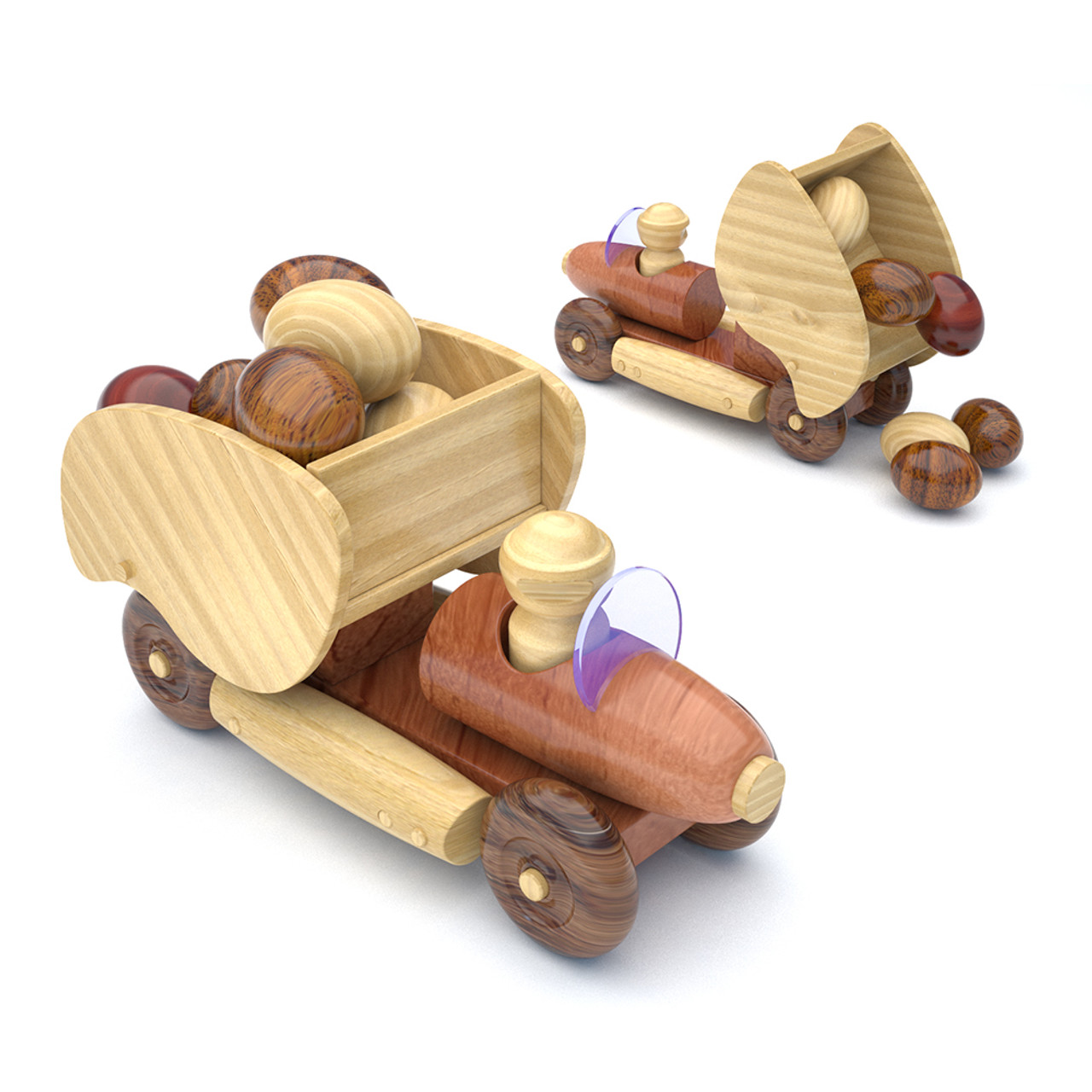 chuckle's rocket rollers for lathes wood toy plans (pdf download)