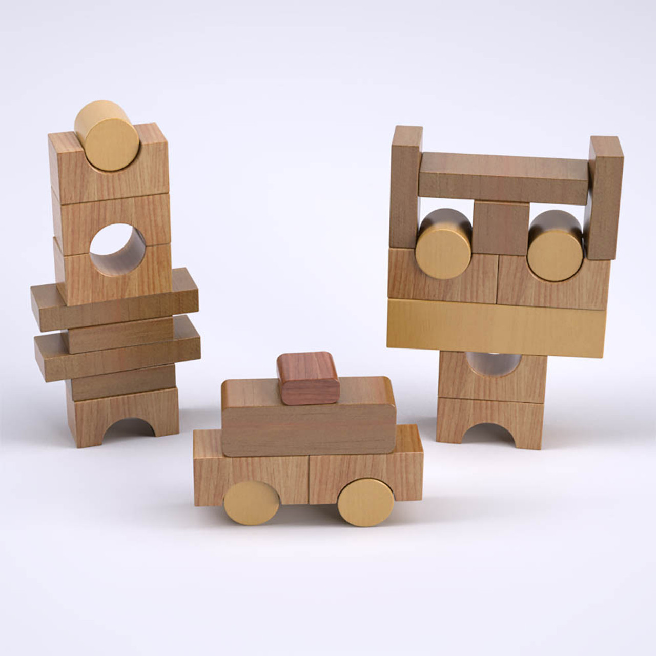 happy teacher pickup truck block puzzle wood toy plans (pdf download)
