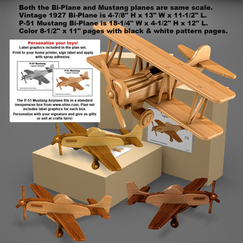Airplanes Wood Toy Plans