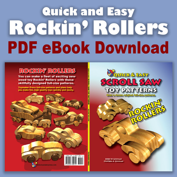 Rockin' Rollers (PDF eBook Download) Wood Toy Plans