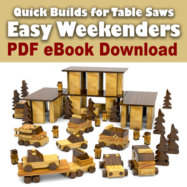 Easy Weekenders (PDF eBook Download) Wood Toy Plans