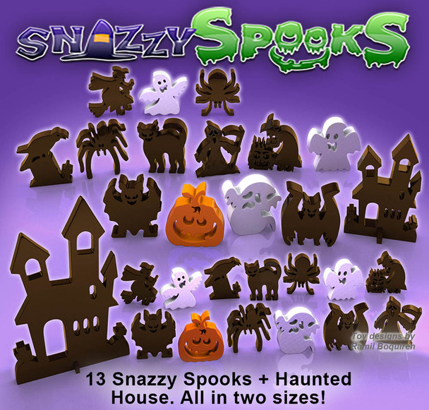 Halloween Snazzy Scroll Saw Spooks (PDF Download) Wood Toy Plans
