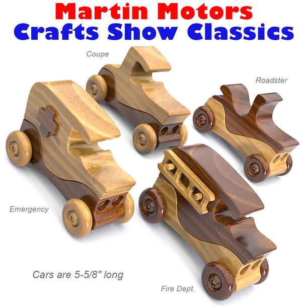 Martin Motors Crafts Show Classics (PDF Download) Wood Toy Plans
