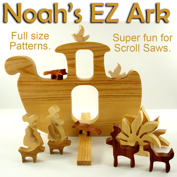 Noah's E-Zee Animal Ark (PDF Download) Wood Toy Plans