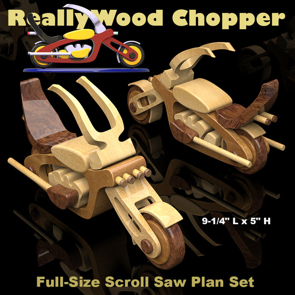 ReallyWood Chopper (PDF Download) Wood Toy Plans