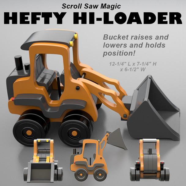 Scroll Saw Magic Hefty Hi-Loader (PDF Download) Wood Toy Plans