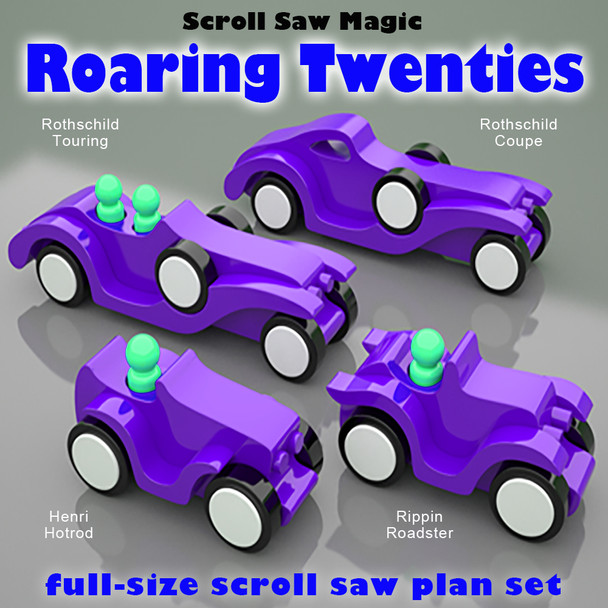 Scroll Saw Magic Roaring Twenties (PDF Download) Wood Toy Plans