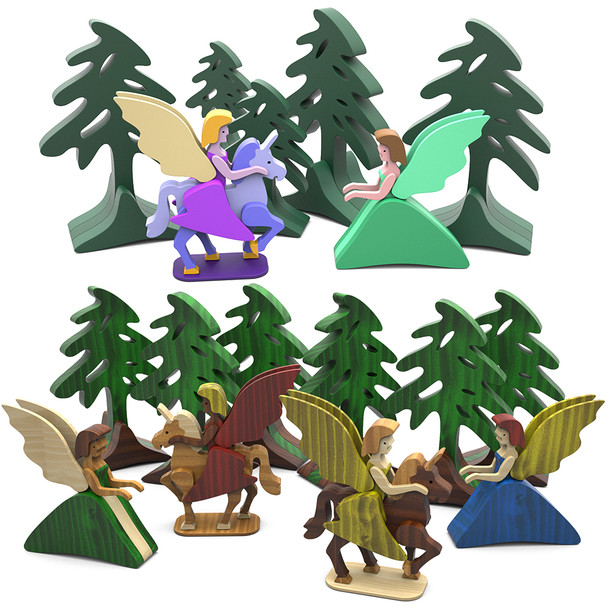 Sweetheart Unicorn Princess (PDF Download) Wood Toy Plans