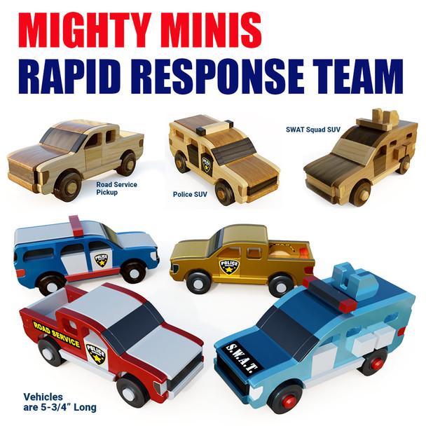 Mighty Mini Rapid Response Team (3 PDF Downloads)