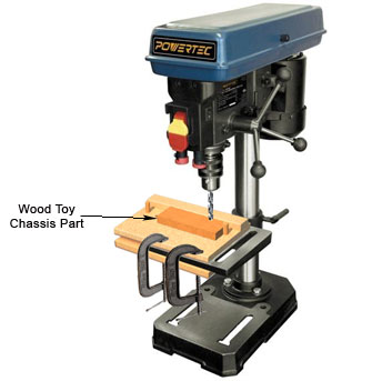 Make Perfect Wood Toy Axle Holes