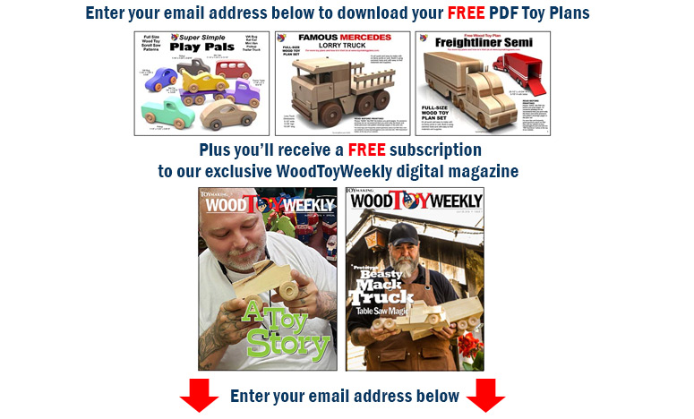 Free Toy Plans + Wood Toy Weekly Subscription