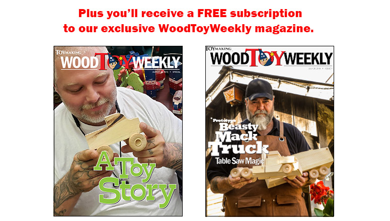 Free WoodToyWeekly digital magazine