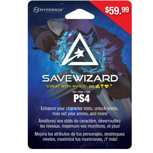 Save Wizard Save Editor for PS4 (Physical Version) - Hyperkin