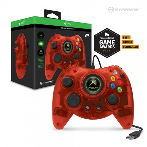 Hyperkin Duke Wired Controller for Xbox One/ Windows 10 PC (Red Limited Edition) - Hyperkin - Officially Licensed by Xbox