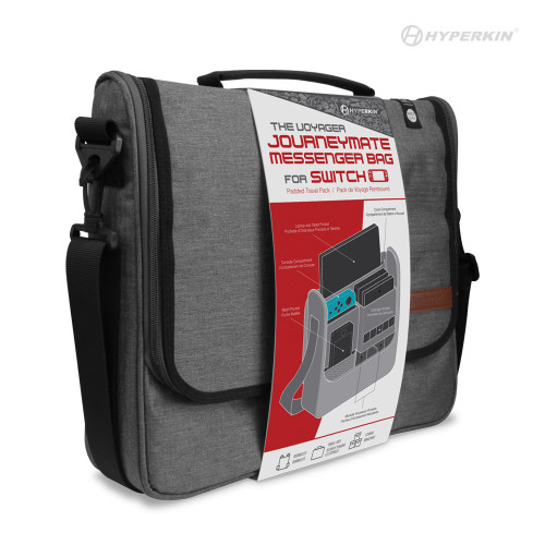 "The Voyager  ""Journeymate"" Messenger Bag for Nintendo Switch®- Hyperkin"