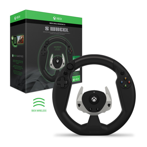 S Wheel Wireless Racing Controller (With Game Pass) For Xbox Series X/ Xbox Series S/ Xbox One - Hyperkin - Officially Licensed By Xbox