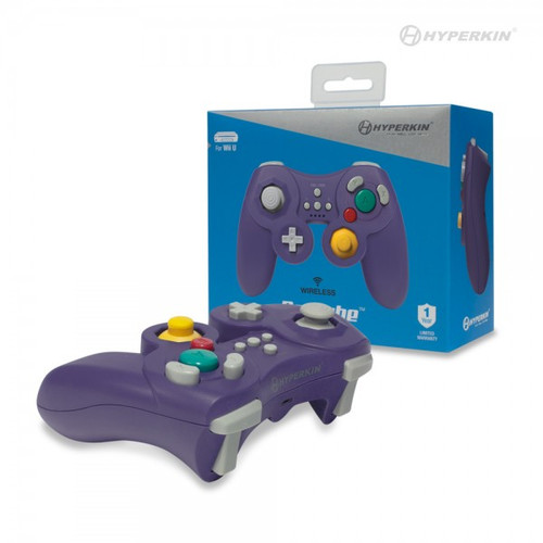 ProCube Wireless Controller for Wii U® (Purple) - Hyperkin