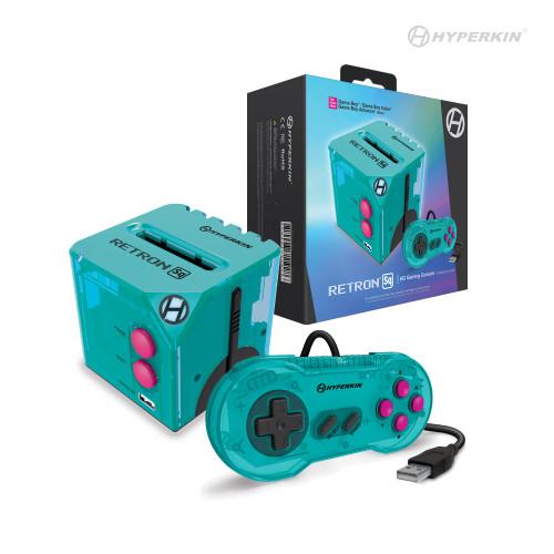 RetroN Sq: HD Gaming Console for Game Boy®/Game Boy Color®/ Game Boy Advance® (Hyper Beach)