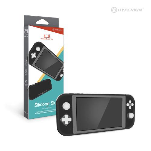 Silicone Skin for Nintendo Switch® Lite (Black)  - Hyperkin