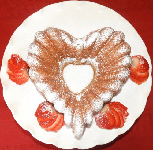 Strawberry Champagne Heart