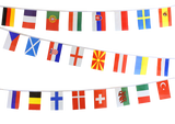 Buy Euro Football Bunting to decorate your event this Summer!