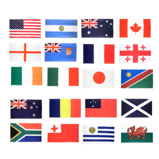 Rugby World Cup Flag Pack