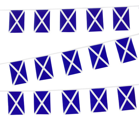Scotland Flag Bunting (Navy Blue)