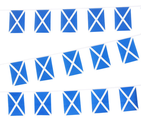 Scotland Flag Bunting (Official)