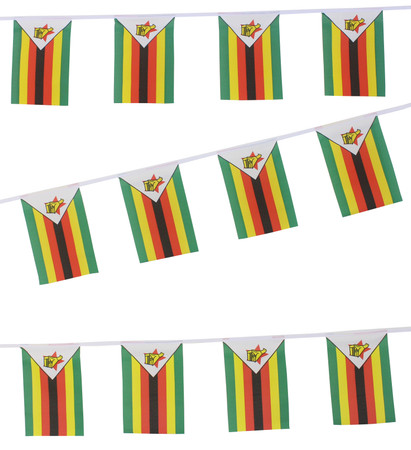 Buy Zimbabwe Flag Bunting,