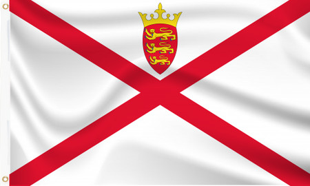 Jersey Flag Channel Islands