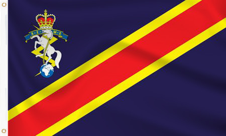 Royal Electrical & Mechanical Corps Flag
