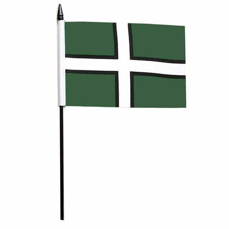 Devon Desk / Table Flag (St Petrocs Cross)