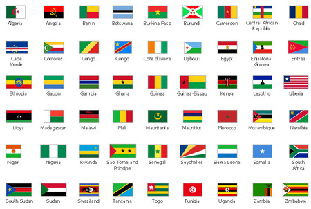 African Nations 54 Flag Pack