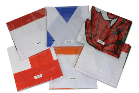 Rugby Six Nations Flag Pack