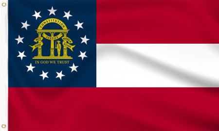 Georgia (US State) Flag