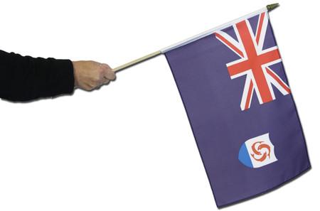 Anguilla Waving Flag