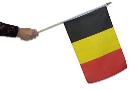 Belgium Waving Flag