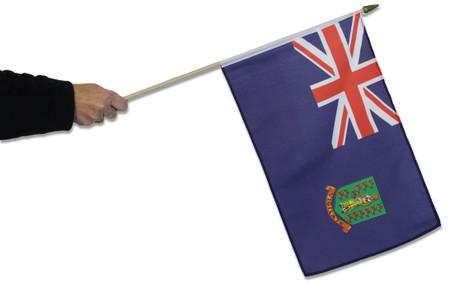 British Virgin Islands Waving Flag