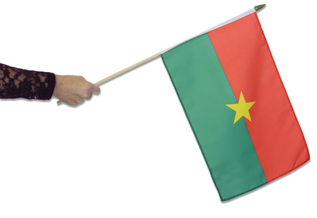 Burkina Faso Waving Flag
