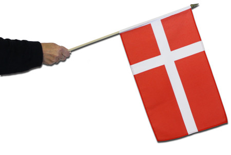 Denmark Waving Flag