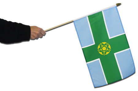 Derbyshire Waving Flag
