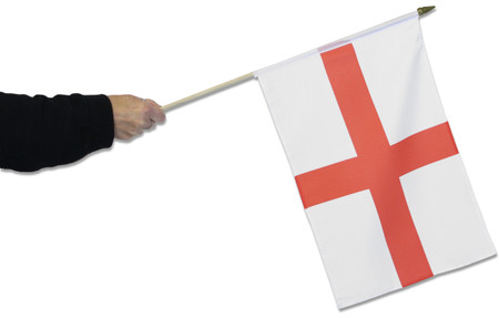 England Waving Flag (St George's Cross)