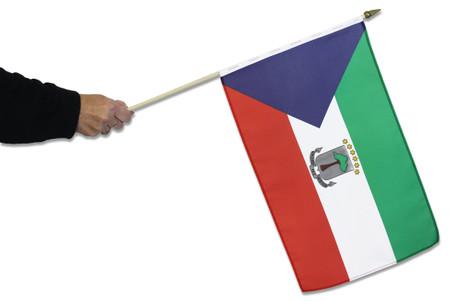 Equatorial Guinea Waving Flag