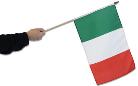 Italy Waving Flag