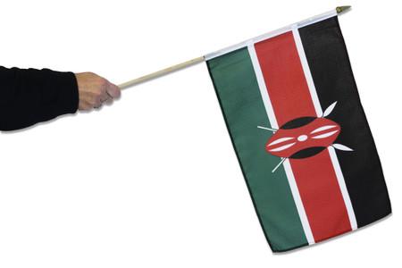 Kenya Waving Flag