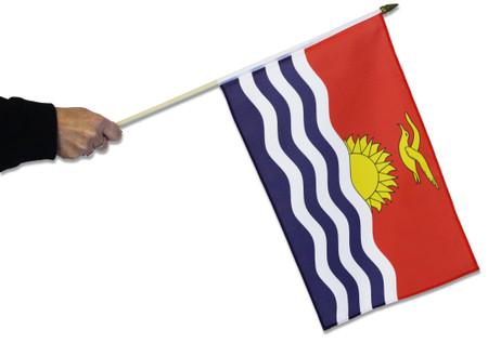 Kiribati Waving Flag