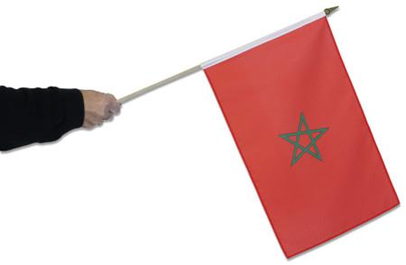 Morocco Waving Flag